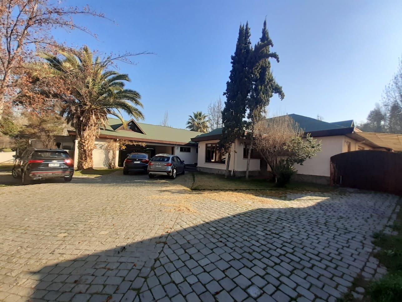 Excelente Casa En Lo Barnechea
